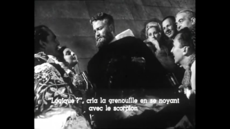 Orson Welles in Mr. Arkadin